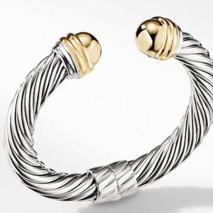 David Yurman Bracelet 14k Gold 10mm